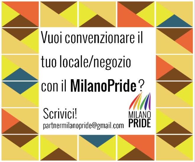 convenzioni Milano pride